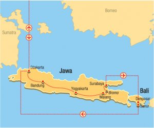 Jawa i Bali - W krainie batiku